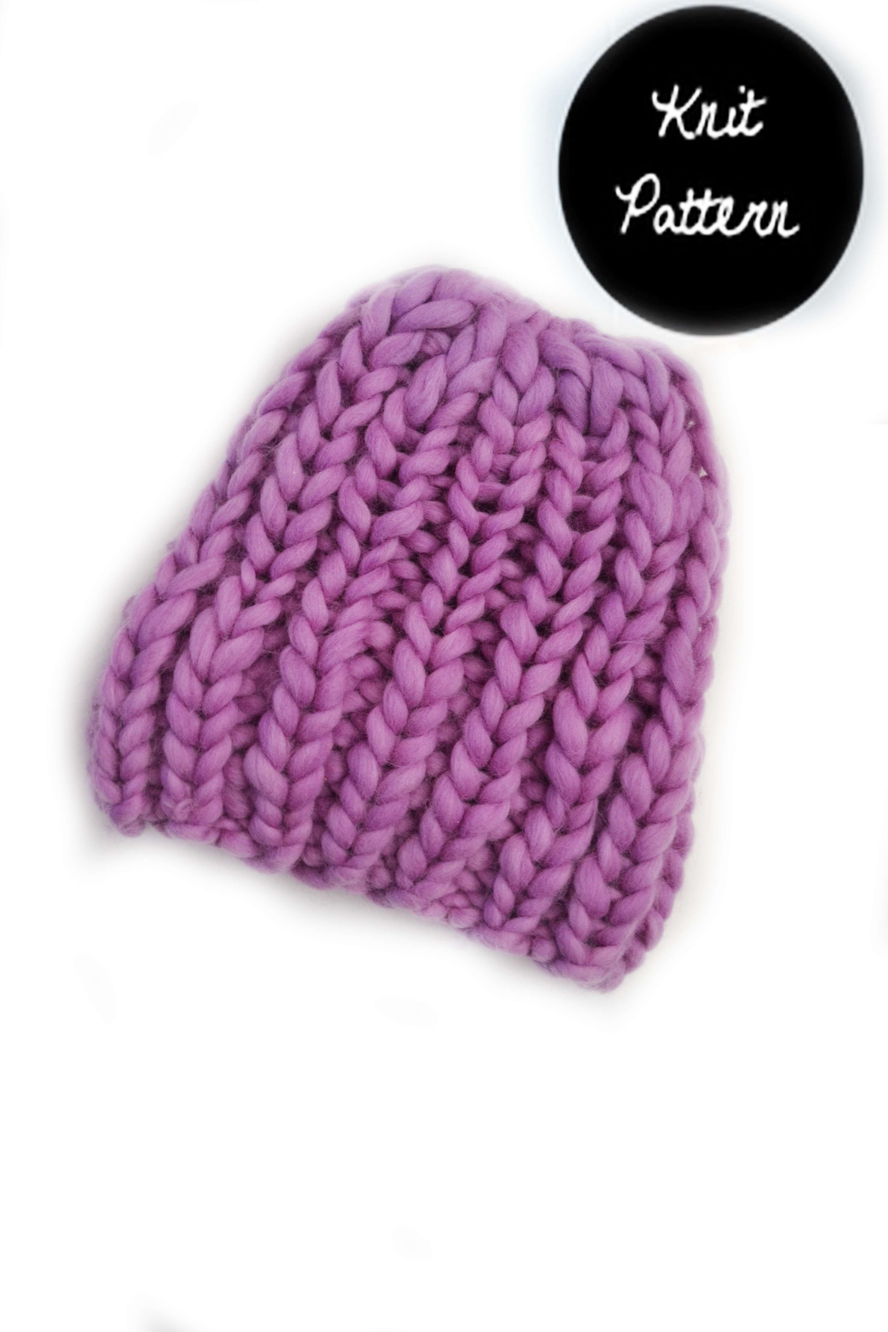 Knitting Pattern For Ribbed Beanie : Ribbed Beanie   Knit Pattern   MANUOSH